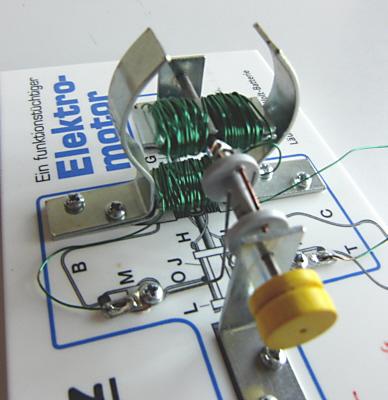 ein anderer Selbstbau-Elektromotor