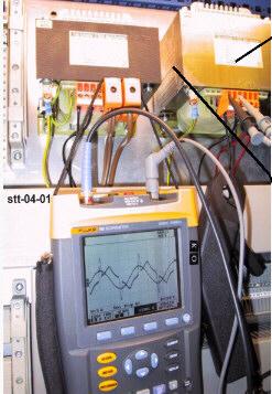 Messungen an einem Trafo mit Steuerelektronik