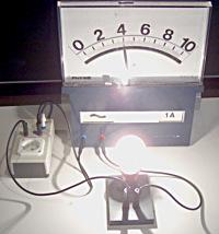 eine 100 W Lampe