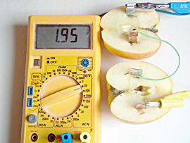 Zusammenschalten mehrerer Apfelbatterien