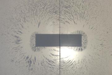 Magnetfeld eines Stabmagneten