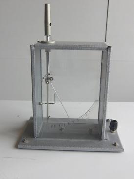 Ein geladenes Elektroskop