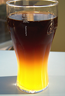 Lustig: Cola light auf Fanta
