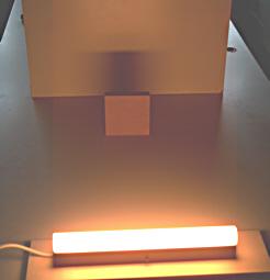 ausgedehnte Lichtquelle