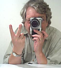 Ein Selbstportrait - mit Spiegel