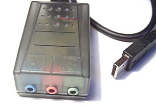 externe USB Soundkarte mit LineIn Eingang