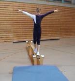 Balancierübung Klasse 2