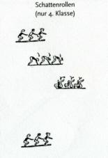 Übung Klasse 4: Schattenrollen