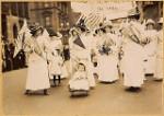 Suffrage Parade New York City - Hörverstehen - soziokulturelles Wissen interkulturelle kommunikative Kompetenz - Landesbildungsserver Baden-Württemberg Englisch