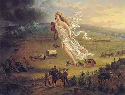 'Manifest destiny was the widely held belief that American settlers were destined to expand across the continent' - soziokulturelles Wissen interkulturelle kommunikative Kompetenz - Landesbildungsserver Baden-Württemberg Englisch