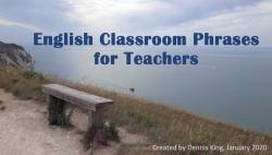 Teaser Classroom Phrases