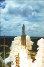 Le lancement d'Ariane