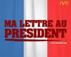 Axiom First, Ma lettre au président