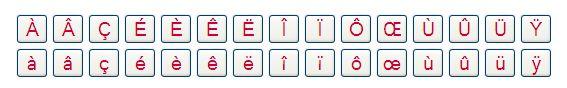 Onscreen-Tastatur von Lexilogos