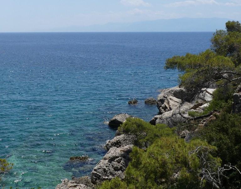 Küste bei Hydra