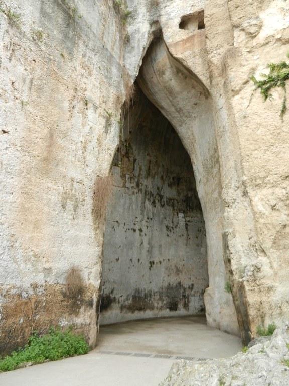 Siracusa, Ohr des Dionysios