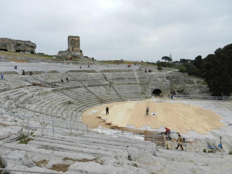 Siracusa, Teatro greco