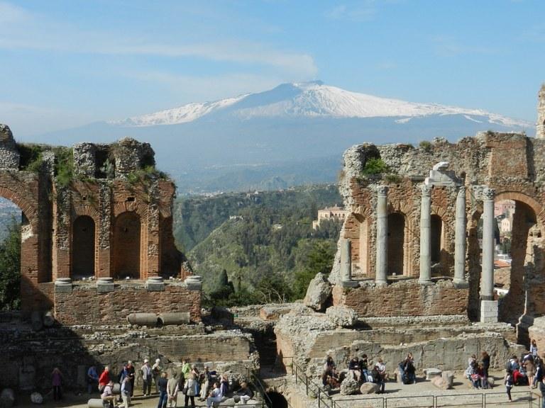 Taormina, Teatro romano