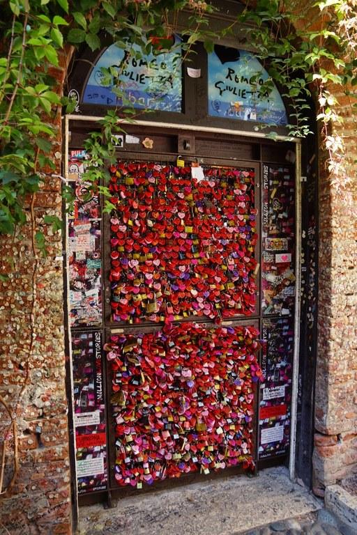 Casa di Giulietta – Lucchetti d'amore