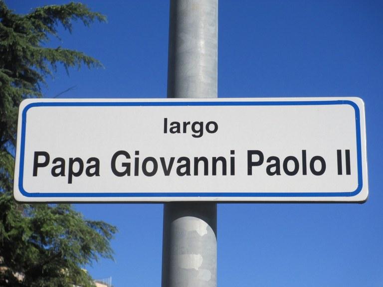 Largo Papa Giovanni Paolo II