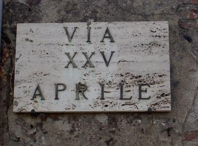 Via XXV Aprile