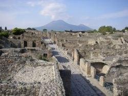 Gli scavi di Pompeji
