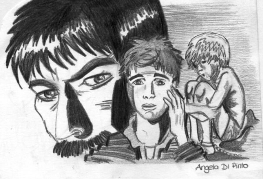 Zeichnung von Angela Di Pinto