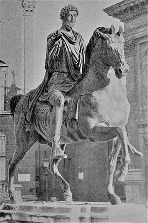 Reiterstatue des Kaisers Marc Aurel