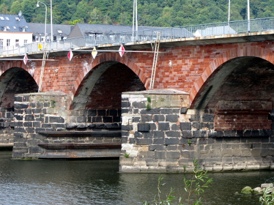 Römerbrücke über die Mosel