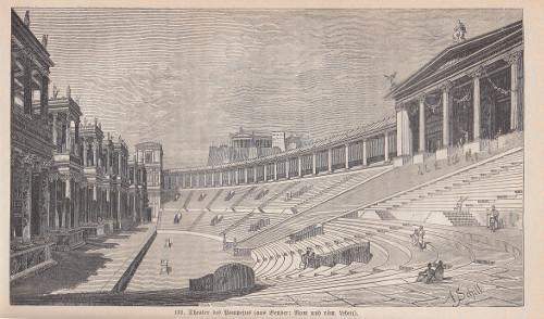 Adolf Schill, Theater des Pompeius