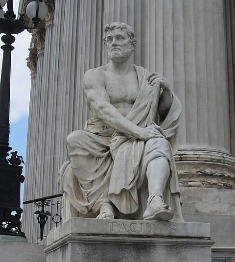 Tacitus-Denkmal am Wieder Parlament