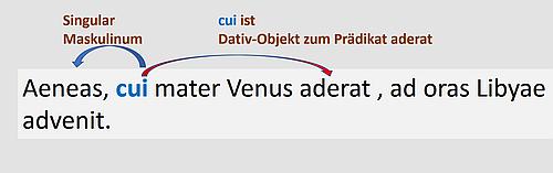 In diesem Relativsatz ist das Relativpronomen ein Dativ-Objekt