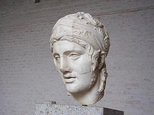 Der Kriegsgott Ares (römisch Mars)