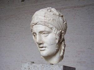 Der Kriegsgott Ares (Mars), Skulptur in der Glyptothek München