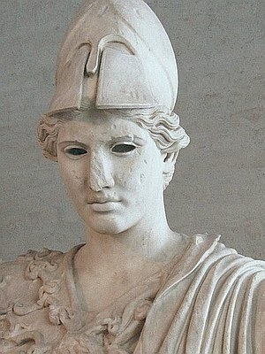 Büste der Athene, Glyptothek München, Typ Velletri