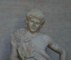 Skulptur des Bacchus