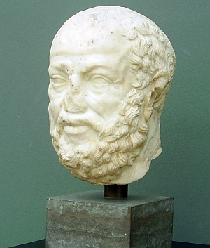 Sokrates, Ny Carlsberg Glyptotek Kopenhagen