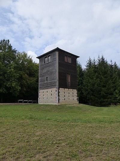 Der Limeswachturm bei Mahdholz (Rainau)
