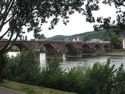 Moselbrücke in Trier, Römerbrücke