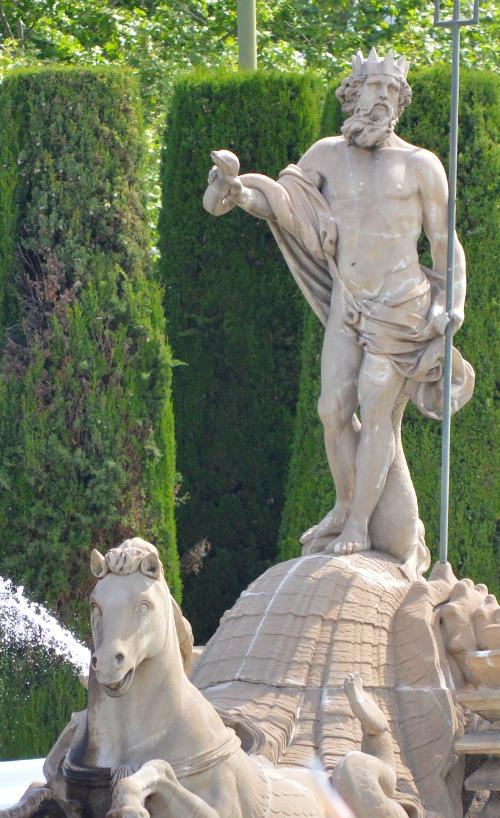 Neptunbrunen, Madrid, Plaza de Cánovas del Castillo