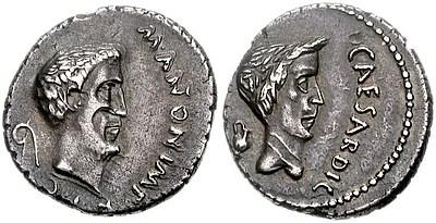 Münze des M. Antonius