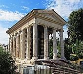 Der Tempel des Gottes Portumnus in Rom