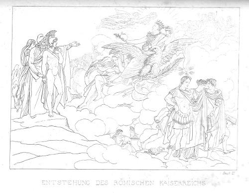 Augustus als künftiger Herrscher Roms