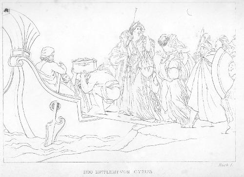 Dido entflieht aus Tyrus