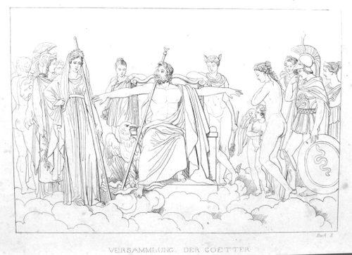 Die Götterversammlung im 10. Buch der Aeneis