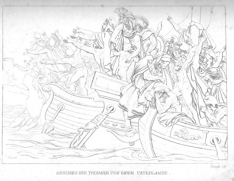 Abschied der Troianer aus ihrer Heimat (großes Bild)