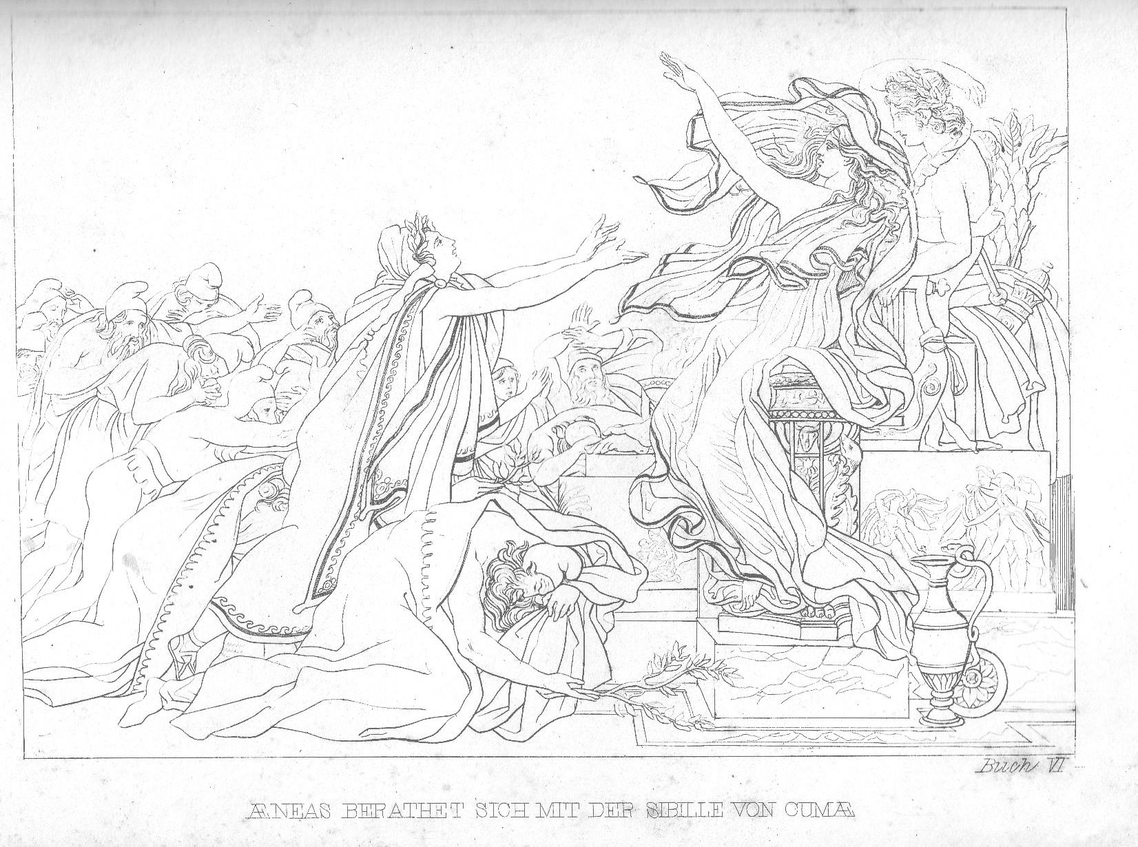 Aeneas und die Sybille