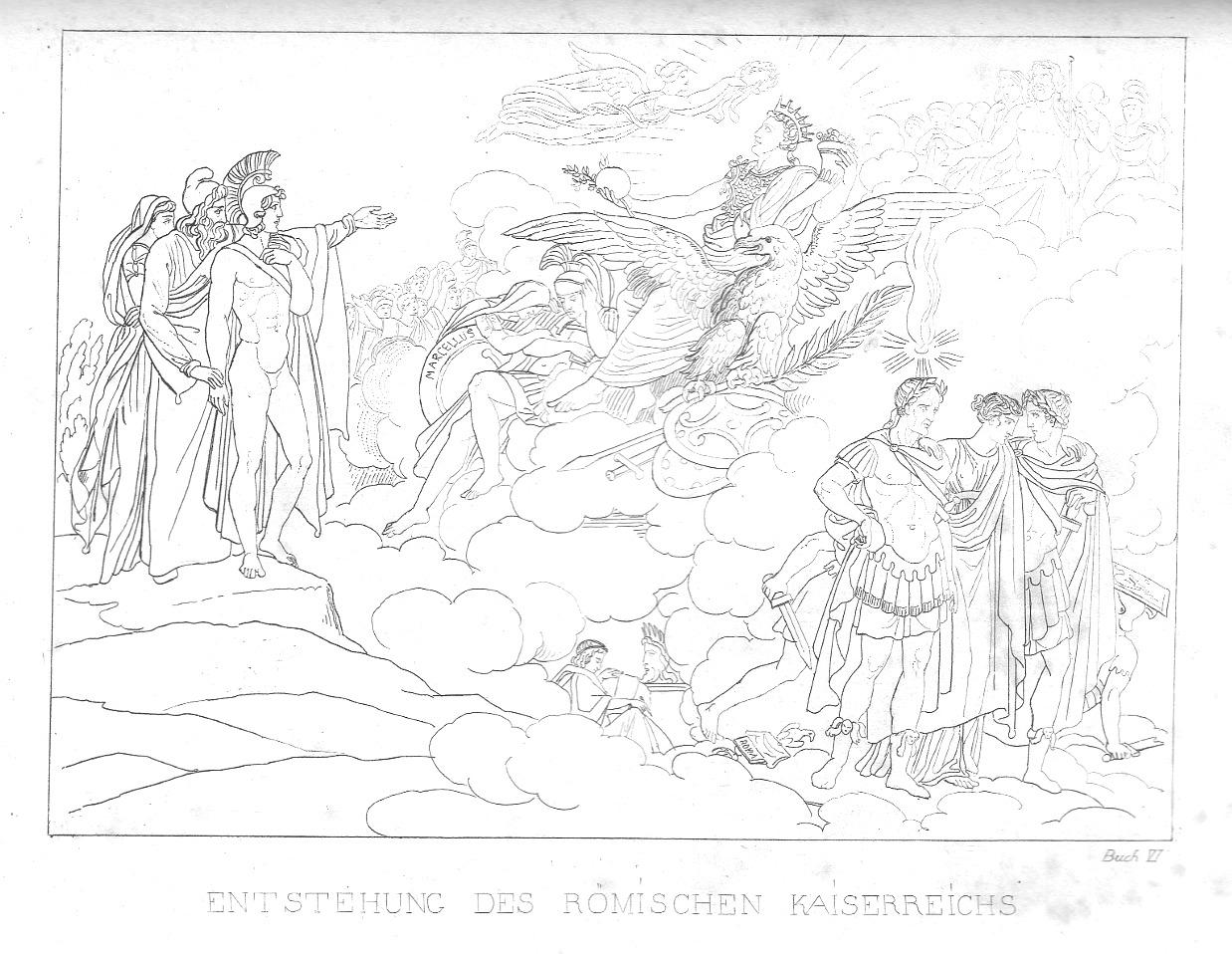 Augustus im 6. Buch der Aeneis (großes Bild)
