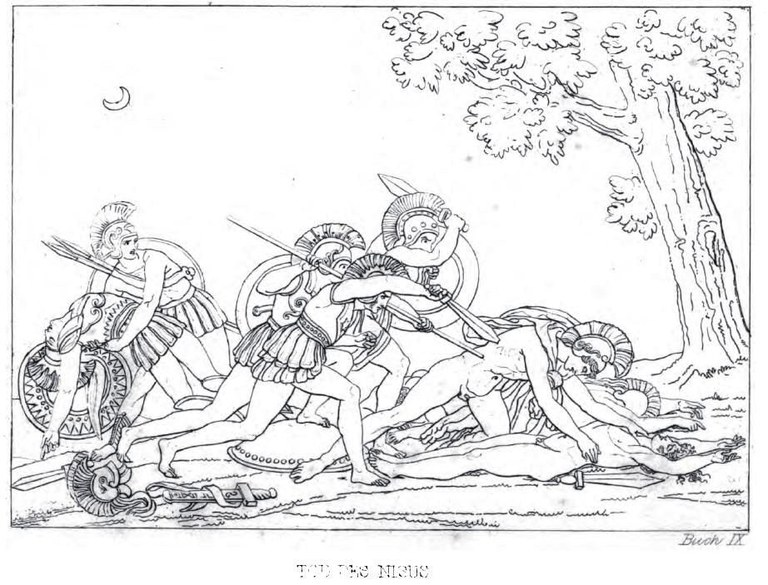 Tod des Nisus