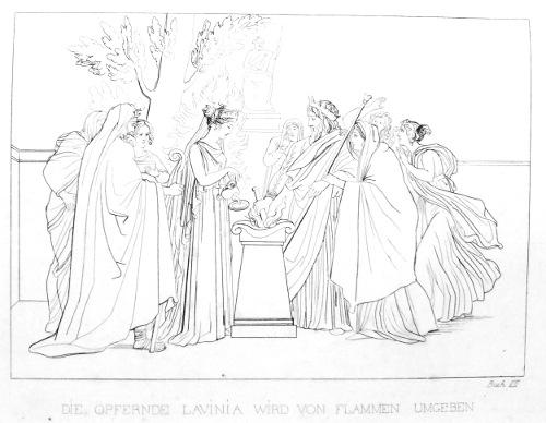 Das Opfer der Lavinia